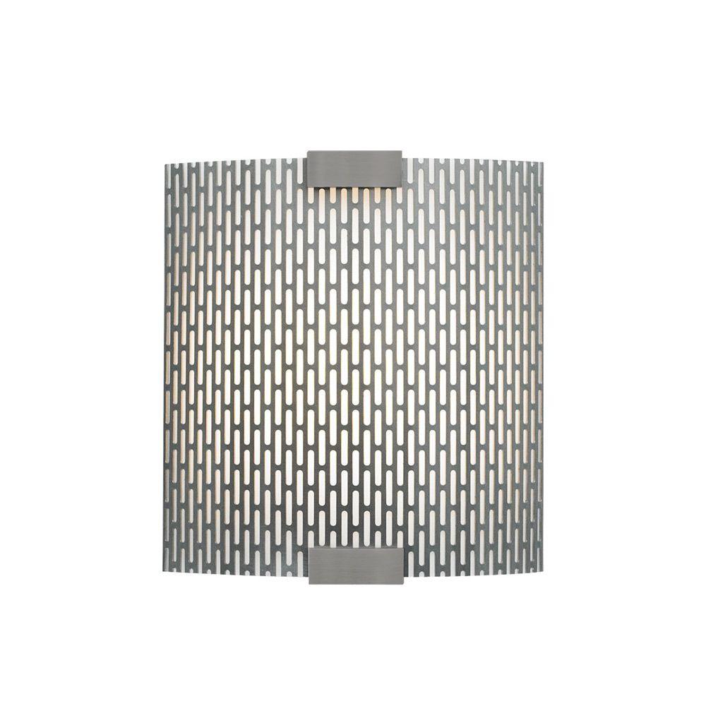 LBL Lighting Omni with Cover 1-Light Bronze Outdoor Fluorescent Metal Small Wall Light