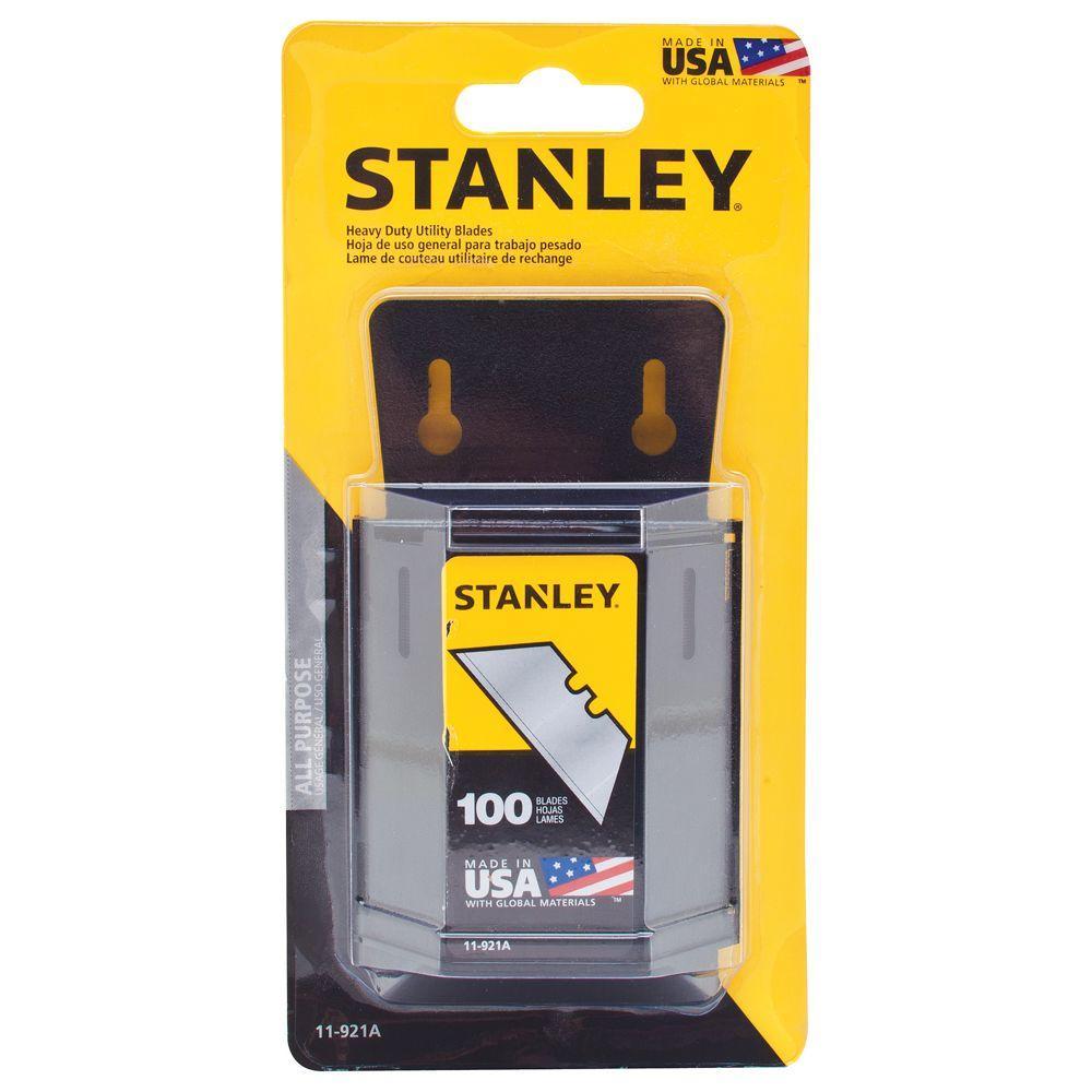 Stanley General Purpose Heavy-Duty Utility Blades (100-Pack)