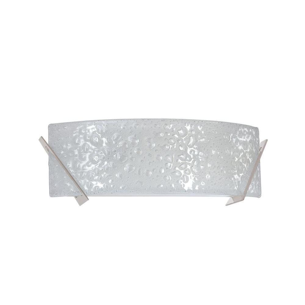 Filament Design Juhani 2-Light Satin Nickel Bath Vanity Light