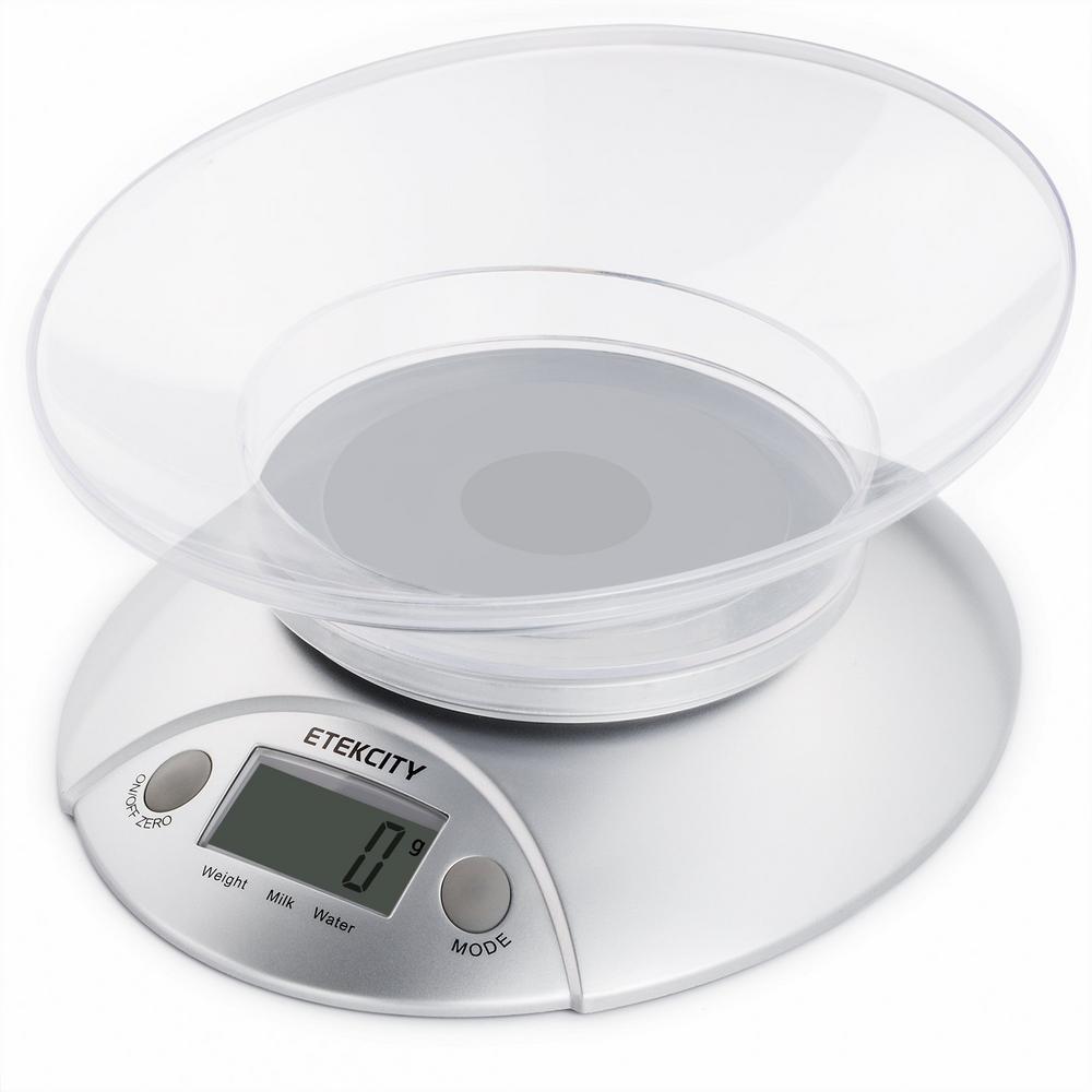 Etekcity 11 lb./5 kg Digital Kitchen Food Scale Volume Measurement Supported