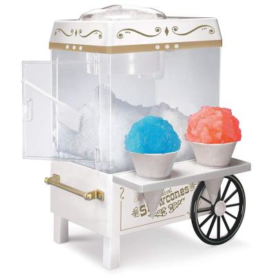 160 oz. Snow Cone Maker in White with Reusable Cones