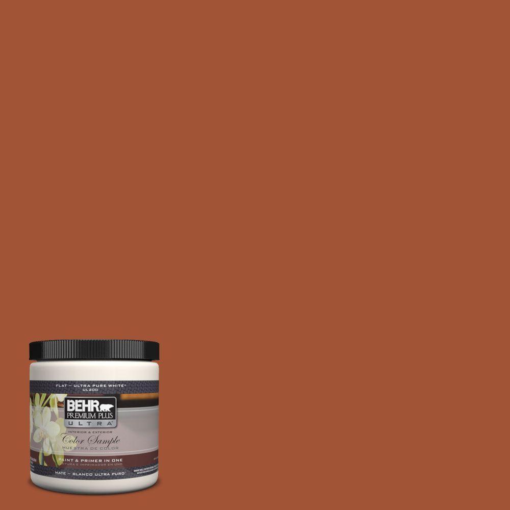 BEHR Premium Plus Ultra 8 oz. #S-H-230 Ground Nutmeg Matte ...