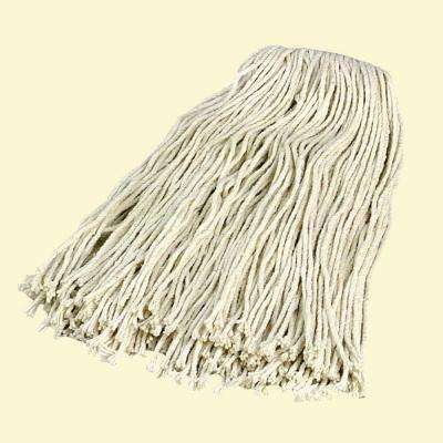 18 Length Carlisle 369024C00 Flo-Pac Kwik-On #24 Cotton Screw Top Cut-End Wet Mop Pack of 12 Pack of 12 18 Length