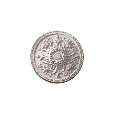 32-1/2 in. x 32-1/2 in. x 2-1/2 in. Polyurethane St. Georges Ceiling Medallion (1-Piece)
