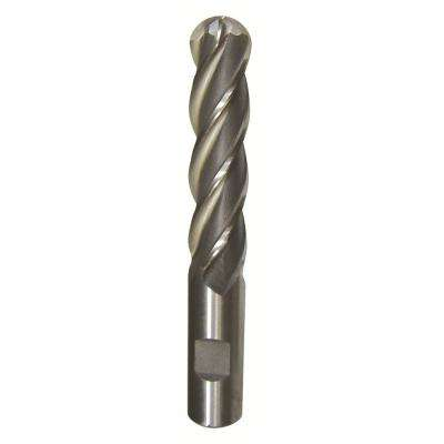 1/16 in. x 1/8 in. Shank Carbide End Mill Specialty Bit with 4-Flute Ball Shape