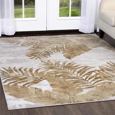 Kenmare Azure Oat 7 ft. 9 in. x 10 ft. 2 in. Indoor Area Rug