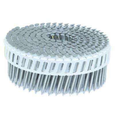 1.75 in. x 0.092 in. 15-Degree Ring Stainless Plastic Sheet Coil Siding Nail 3,200 per Box