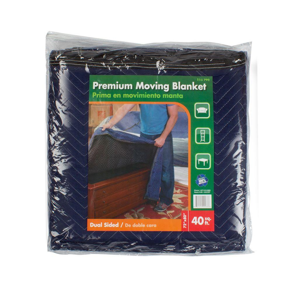 Pratt Retail Specialties 72 in. x 80 in. Moving Blanket