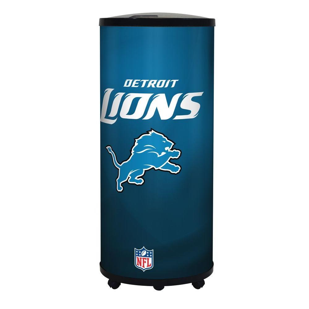 Glaros Nfl 22 Qt Detroit Lions Ice Barrel Cooler B17 Det