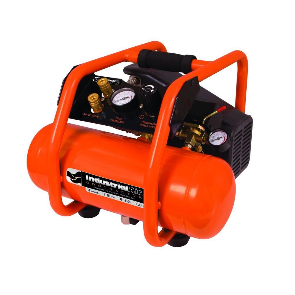 Industrial Air 2-Gal. Portable Electric Air Compressor-DISCONTINUED