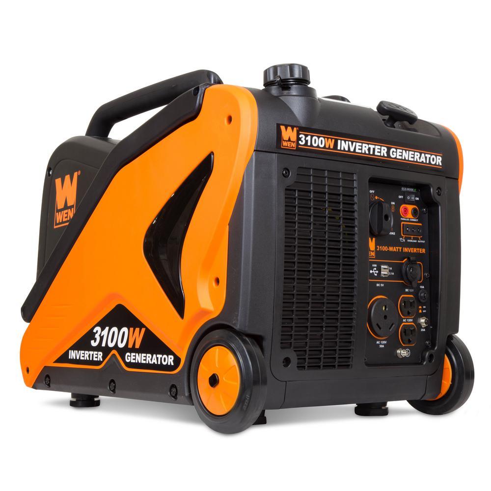 WEN Super Quiet 3100-Watt RV-Ready Gas-Powered Portable Inverter Generator  CARB Compliant