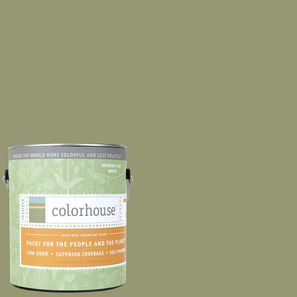1 gal. Glass .04 Flat Interior Paint