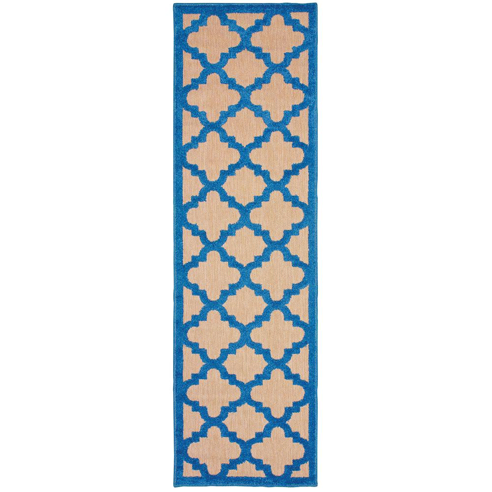 Marina Blue 2 ft. 3 in. x 7 ft. 6 in.