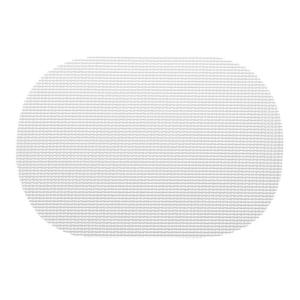 Kraftware Fishnet Oval Placemat in White (Set of 12) by Kraftware
