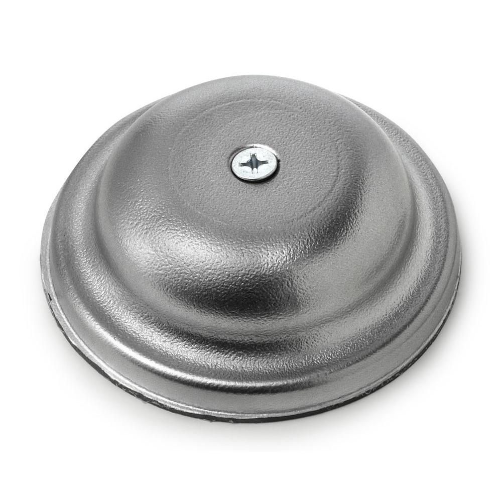 Oatey 4 in. Plastic Bell Cleanout Cover Plate in Chrome
