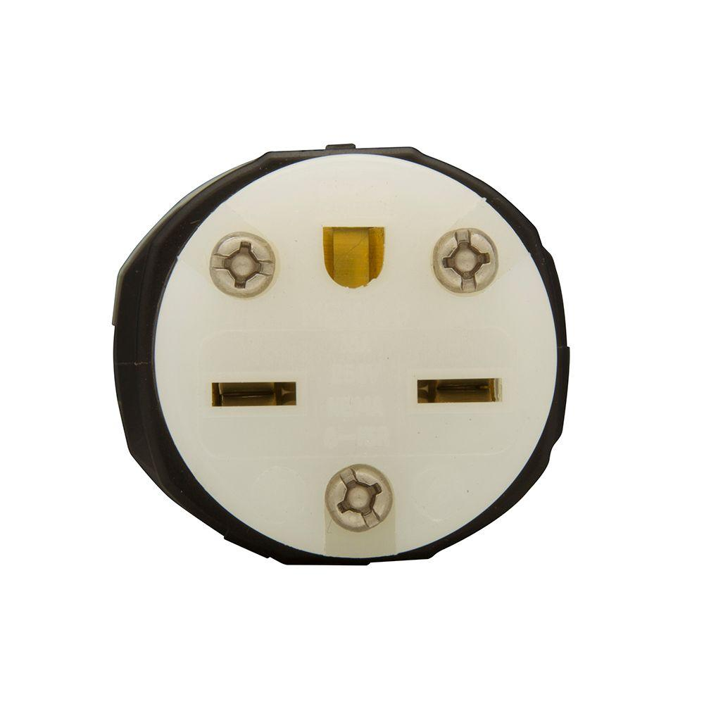 15 Amp 250-Volt 6-15 Ultra Grip Plug