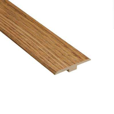 Cottage Chestnut 1/4 in. Thick x 1-7/16 in. Wide x 94 in. Length Laminate T-Molding