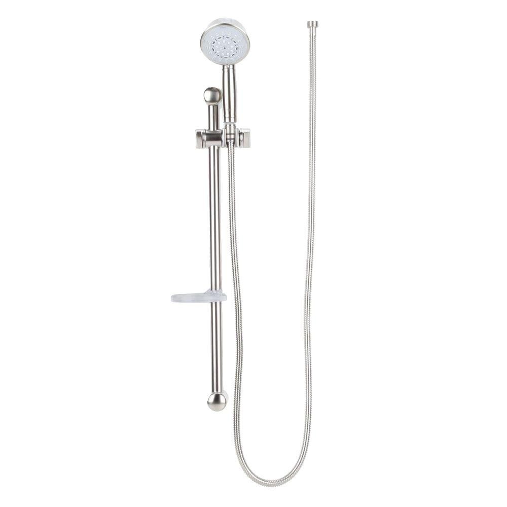 Relax Rustic 24 in. 5-Spray Shower Bar with Hand Shower in