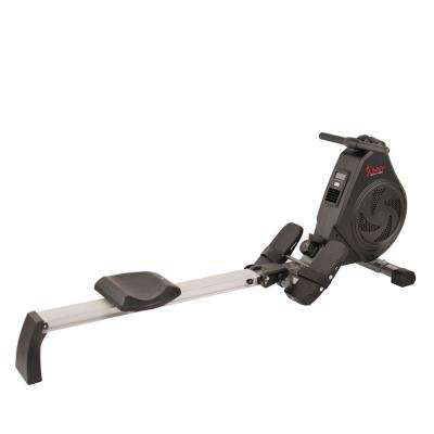 Air Magnetic Rower With Aluminum Slide Rail