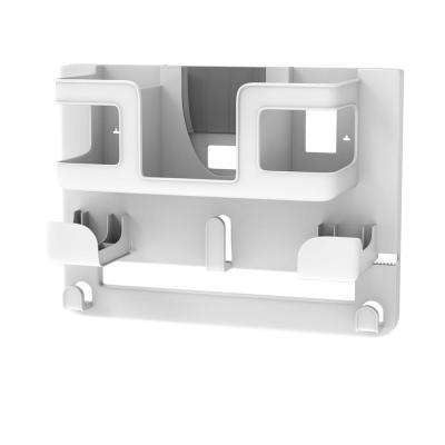 Wall Mounted Ironing Board Organizer with Supply Holder