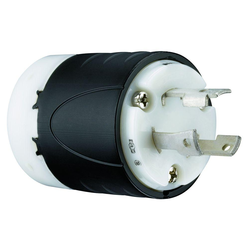 Legrand Pass And Seymour 30 Amp 250-volt Locking Plug-l630pccv3