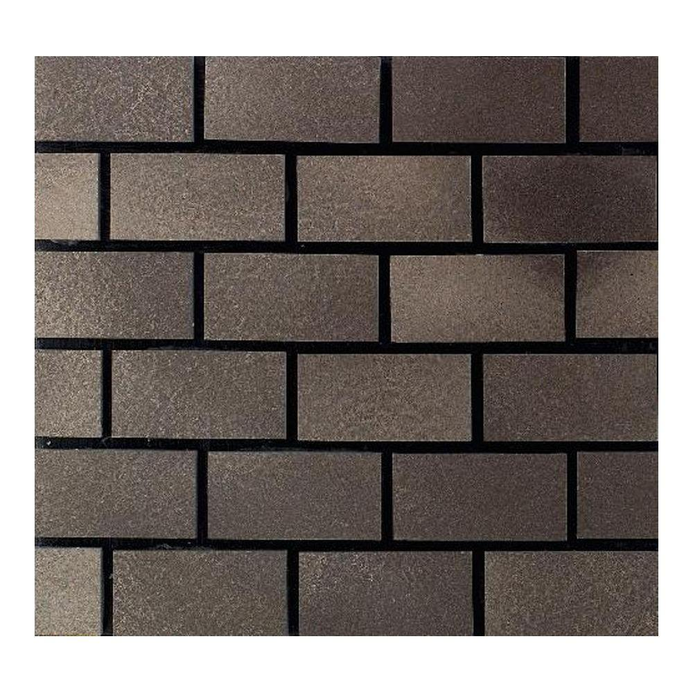 Dal-Tile Urban Metals Bronze 12 in. x 12 in. x 8 mm Compo...