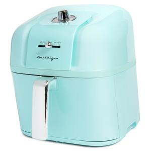 Deals on Nostalgia Classic Retro 7 Qt. Aqua Air Fryer