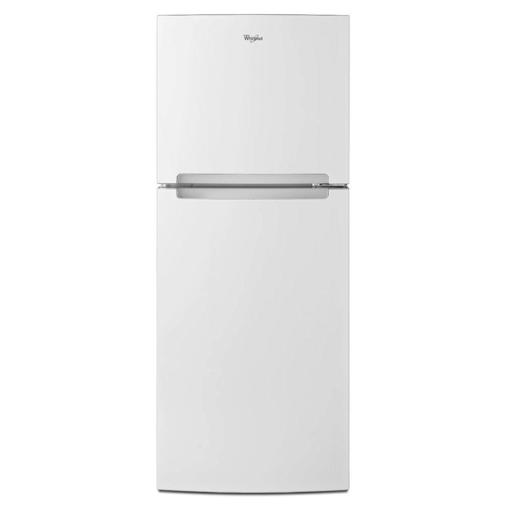 Whirlpool 107 Cu Ft Top Freezer Refrigerator In White Hotpoint Compressor Wiring Diagram