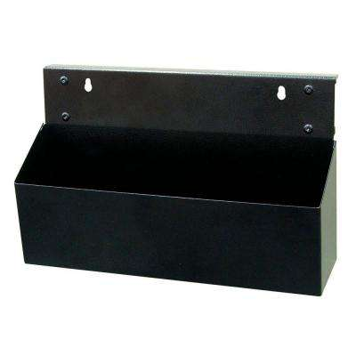 MagClip 12 in. L x 3.5 in. W x 5 in. H Black Powder Coated Steel Magnetic Tool Box