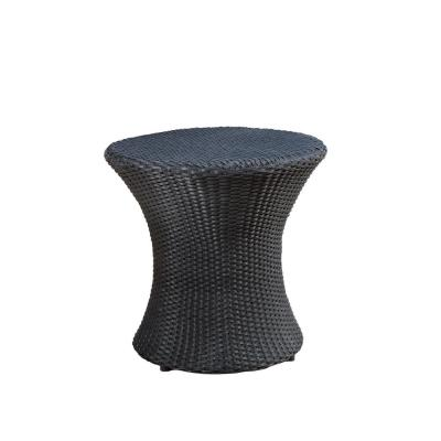 Adriana Round Wicker Outdoor Accent Table