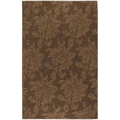 Sofia Brown 5 ft. x 8 ft. Area Rug