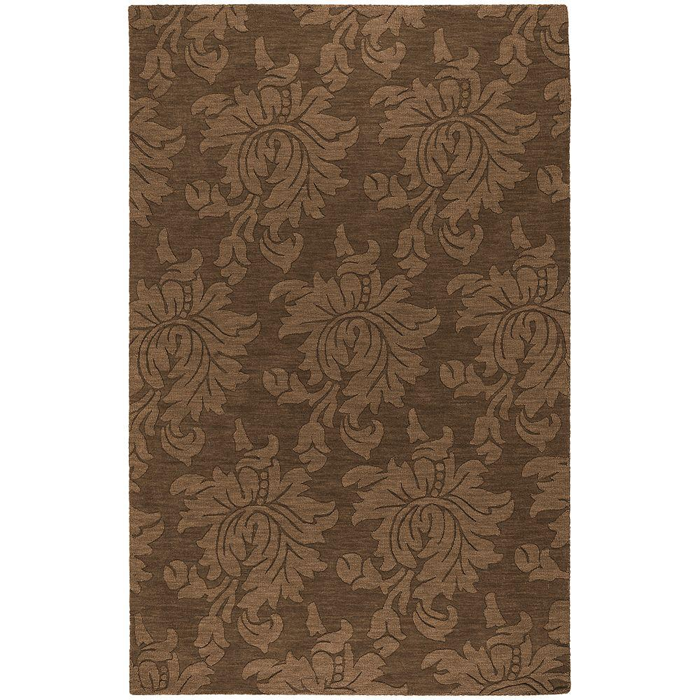 Home Decorators Collection Sofia Brown 8 ft. x 10 ft. Area Rug