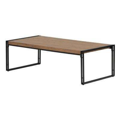 Gimetri Rustic Bamboo Coffee Table