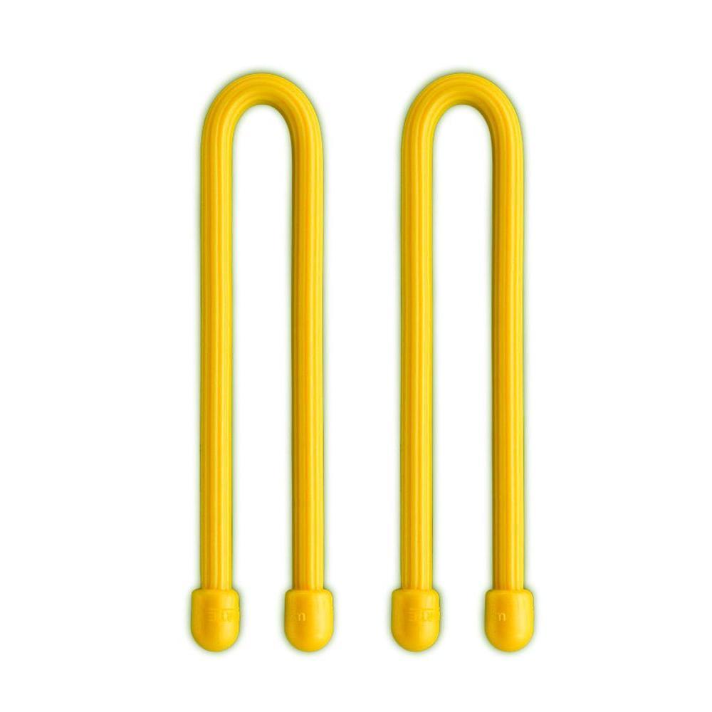 Nite Ize Gear Tie 6 inch - Yellow 2pk