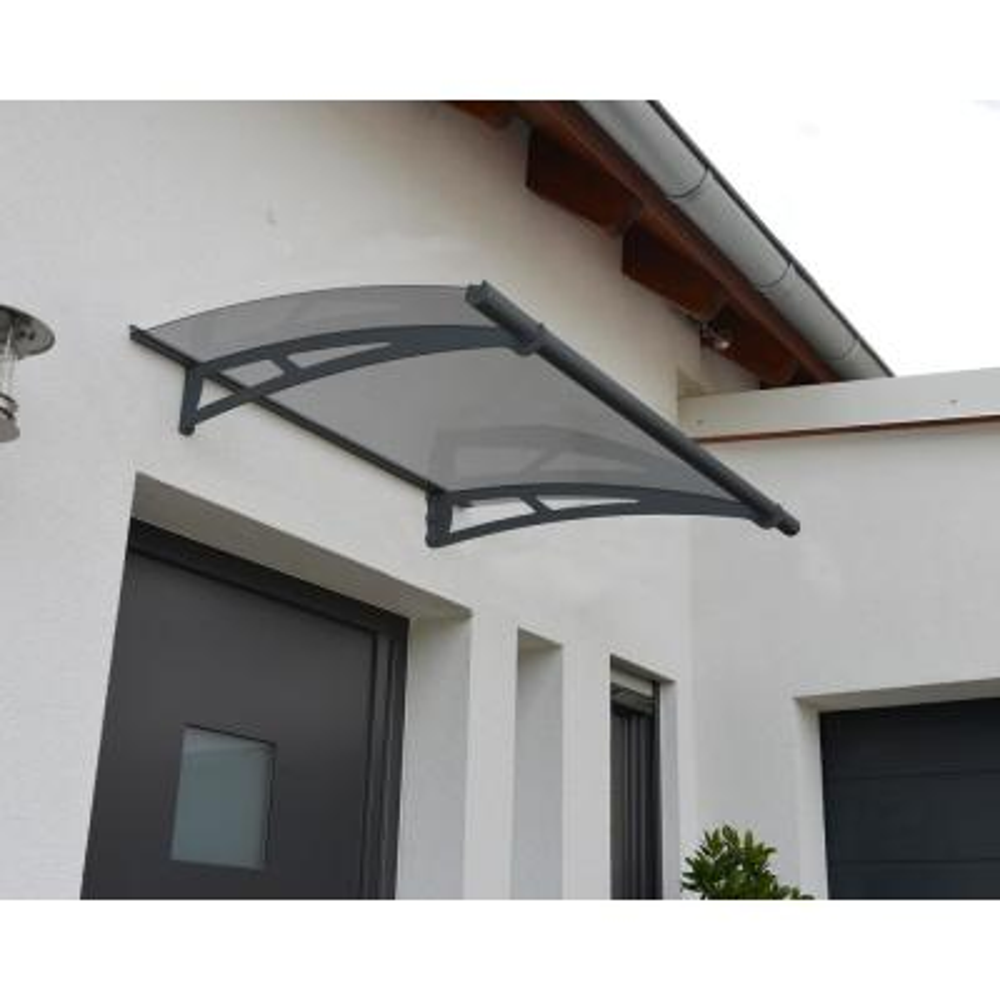 Aquila 1500 4 ft. 11 in. Solar Gray Door Canopy Awning