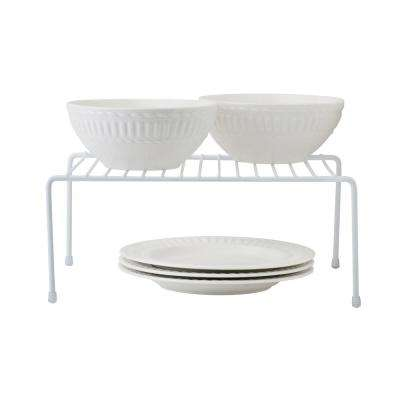 White Medium Kitchen Shelf Organizer