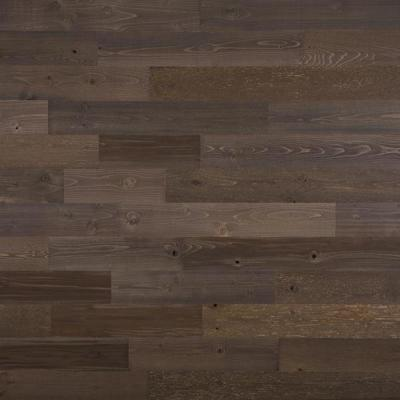1/8 in. x 4 in. x 12-42 in. Peel and Stick Brown Wooden Decorative Wall Paneling (10 sq. ft./Box)
