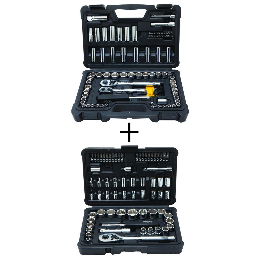 Stanley 97-Piece Mechanics Tool Set with Bonus 68-Piece Mechanics Tool Set