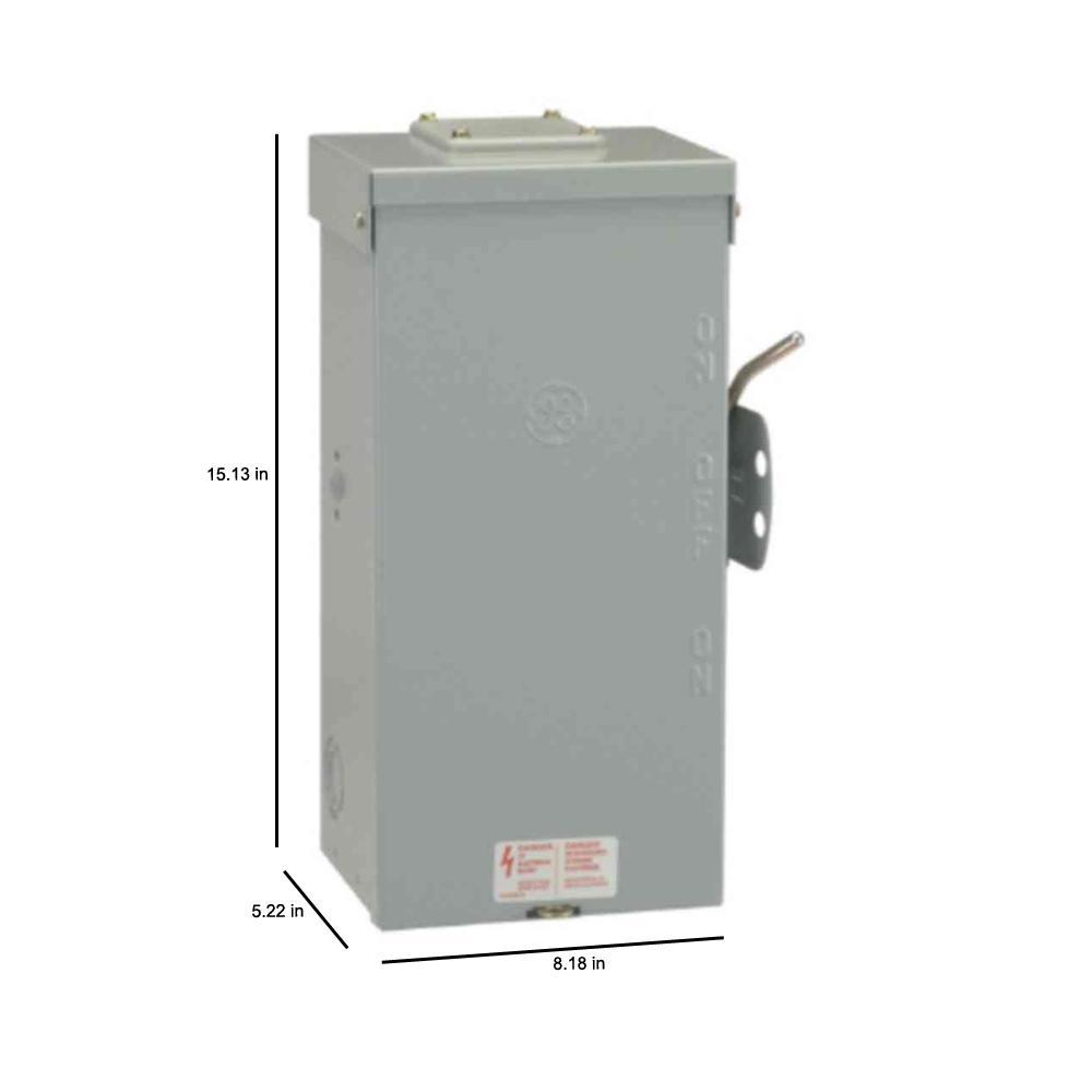 250 Amp Fuse Disconnect Box