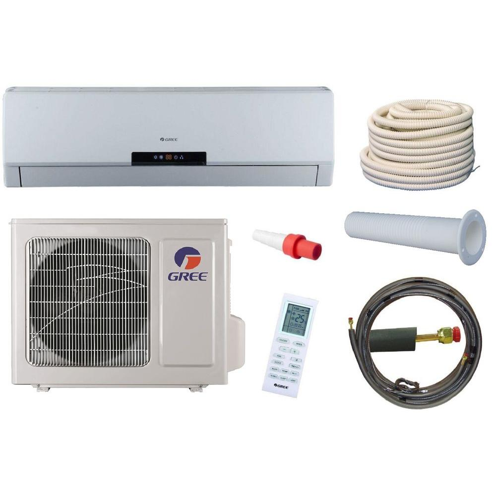 Gree Neo 9 000 Btu 3 4 Ton Ductless Mini Split Air Conditioner And Heat Pump