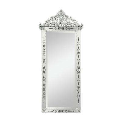 Manor House 69 in. x 31 in. Venetian Glass Framed Mirror