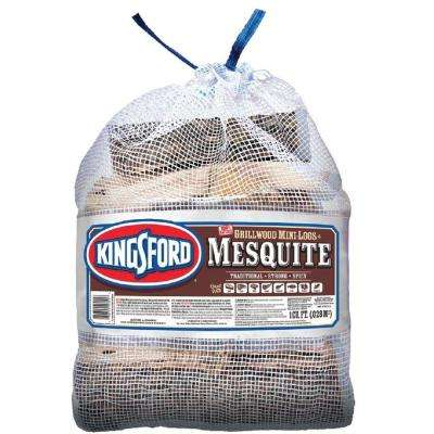 1 cu. ft. BBQ Mesquite Wood Logs
