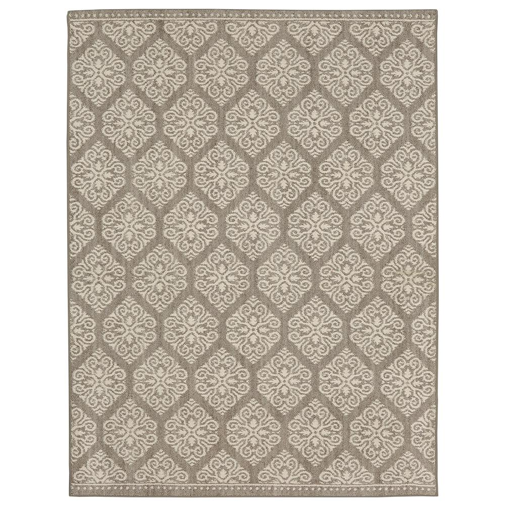 Home Decorators Collection Taurus Grey Cream 4 Ft X 6 Ft