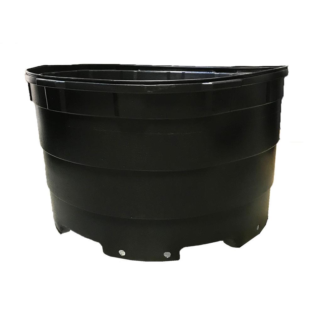 200 Gal. Round Plastic Nursery Garden Pots (5-Pack, 176.5 Actual Gallons/665 l/27.3 cu. ft)