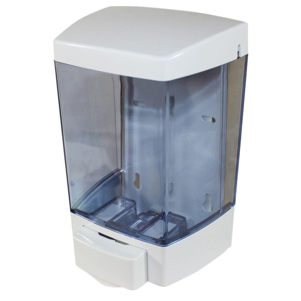 46 fl. oz. 1360 ml Liquid Soap Dispenser in White