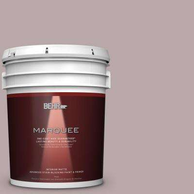 5 gal. #MQ1-36 Object of Desire One-Coat Hide Matte Interior Paint