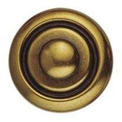 1800 Circa 0.98 in. Polished Brass Knob
