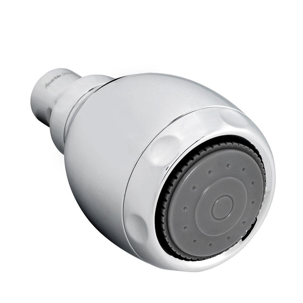 American Standard Vario Adjustable 3-Spray 3.125 in. Showerhead in Polished Chrome