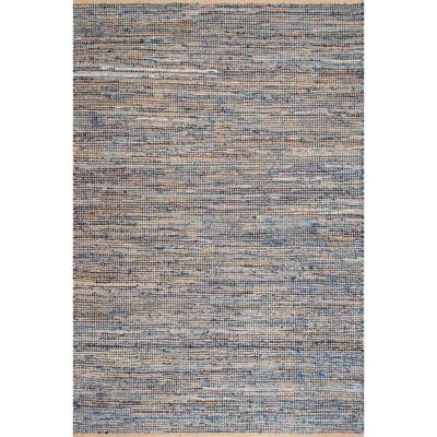 Vernell Contemporary Jute Natural 9 ft. x 12 ft. Area Rug