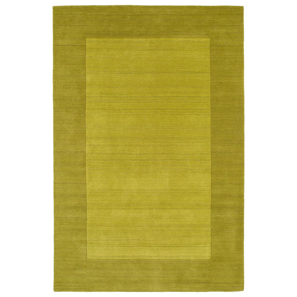 Lime Green Kitchen Rug: Kaleen Dominion Lime Green 5 Ft. X 7 Ft. 9 In. Area Rug